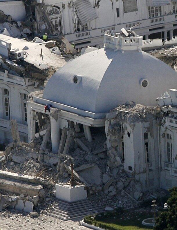 Землетрясение на Гаити.