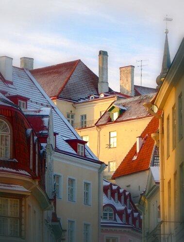 Сказочные крыши. Таллин(дек. 09)