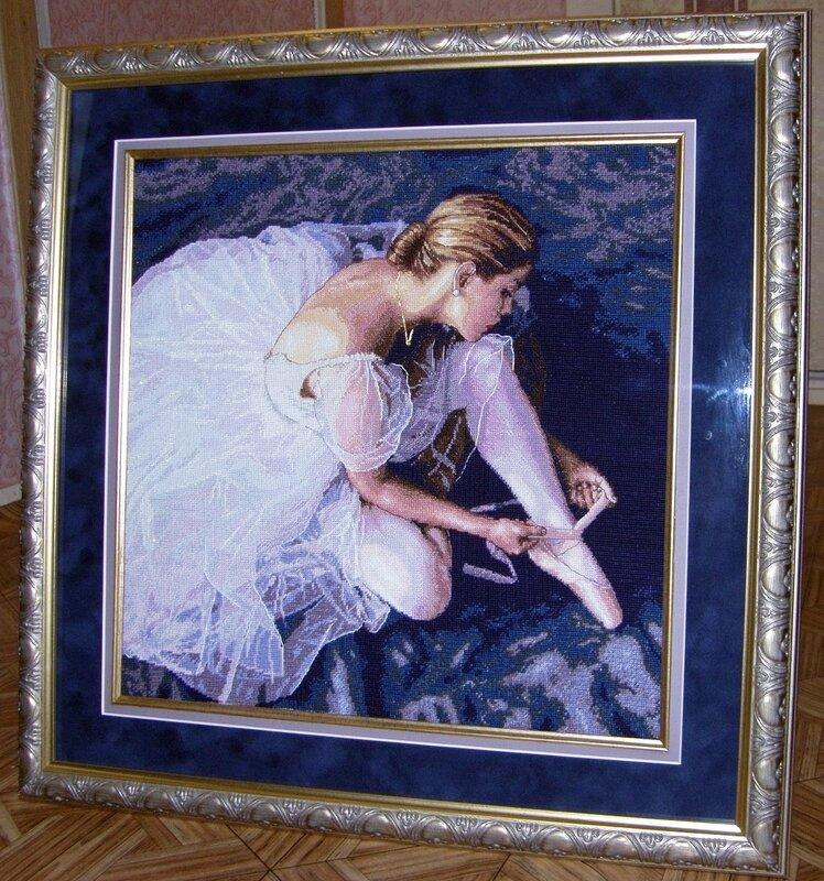Прекрасная балерина от от Dimensions 35181