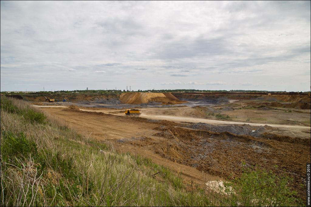 Ново-Сухоложский карьер цементного сырья