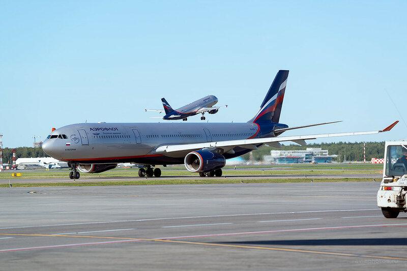 Airbus A330-343 (VQ-BCV) Аэрофлот D800800