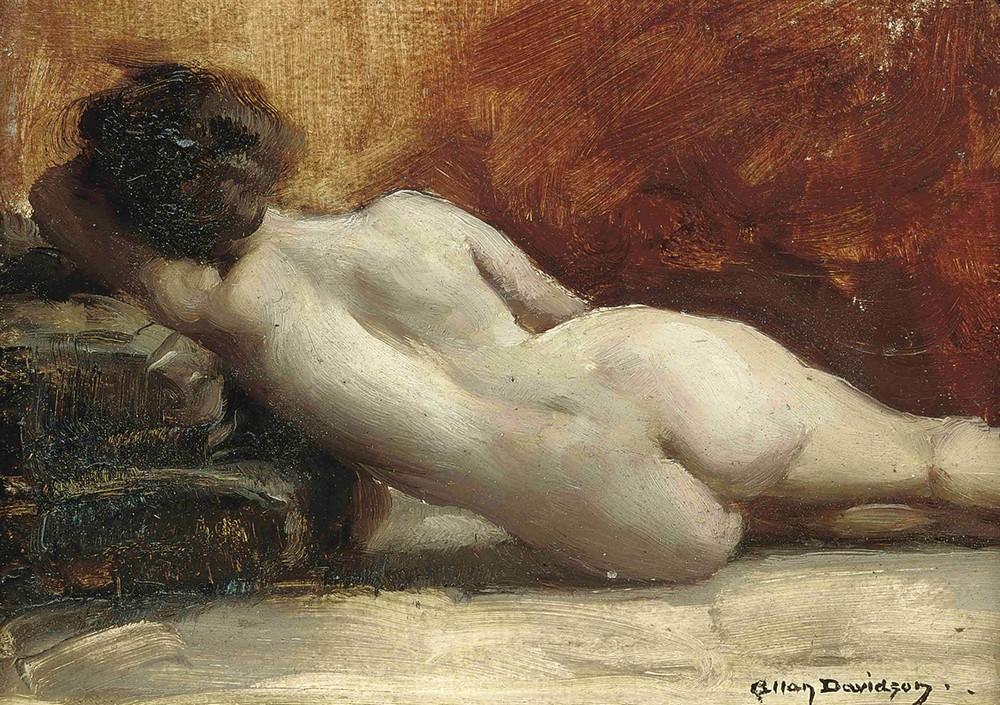 Обнаженная натура на картинах Аллана Дугласа Дэвидсона