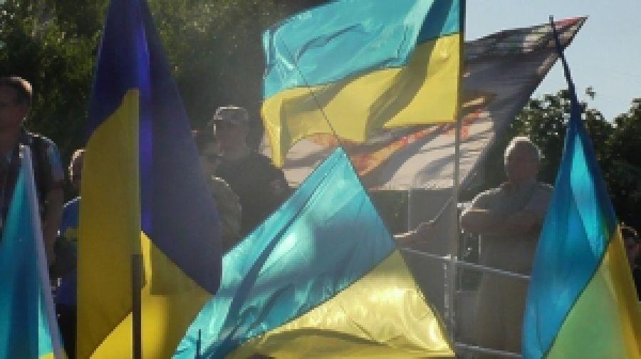 """В Мариуполе прошла акция под лозунгом """"Нет демилитаризации Широкиного!"""""""