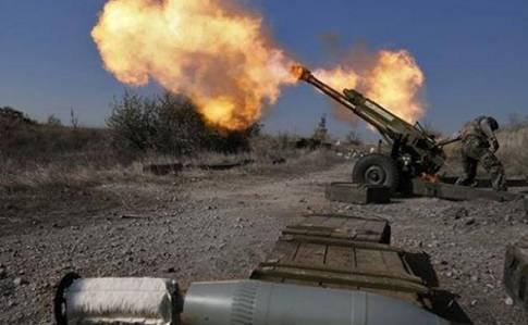 С начала текущих суток российские оккупационные войска открывали огонь пять раз, - спикер пресс-центра штаба АТО