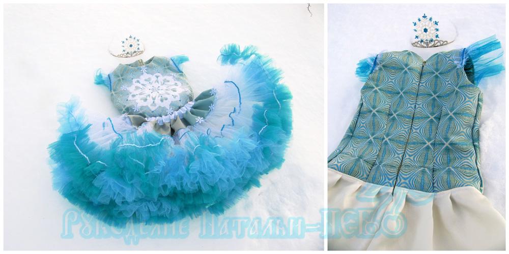 новогодний костюм для девочки своими руками платье юбка из фатина