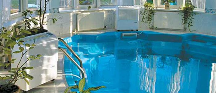 Особенности использования осушителей для бассейнов