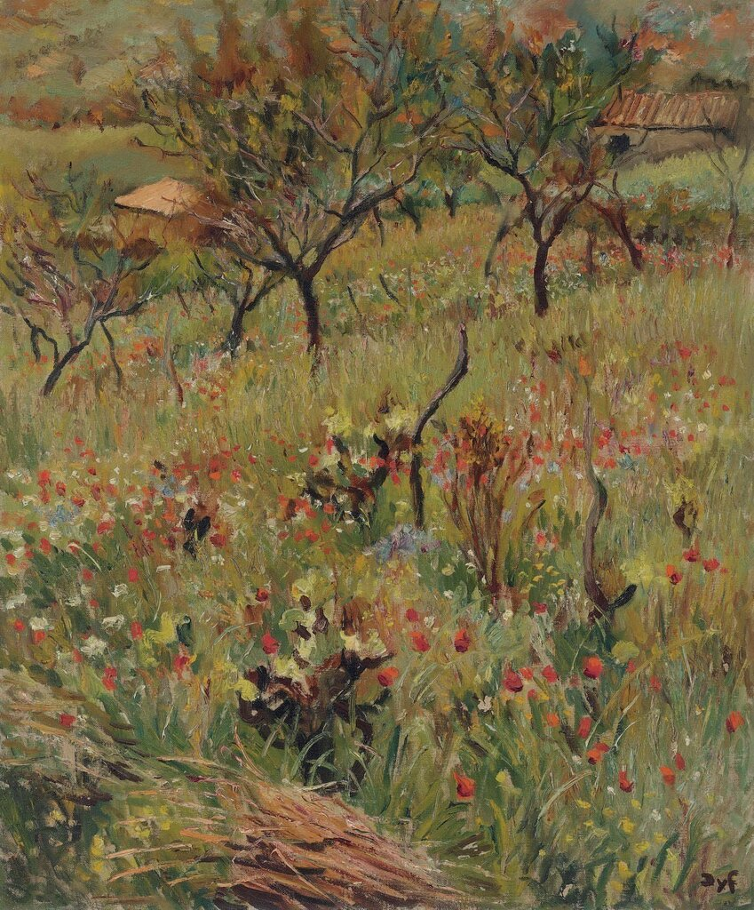 Flowers in the Orchard, 1950.jpg