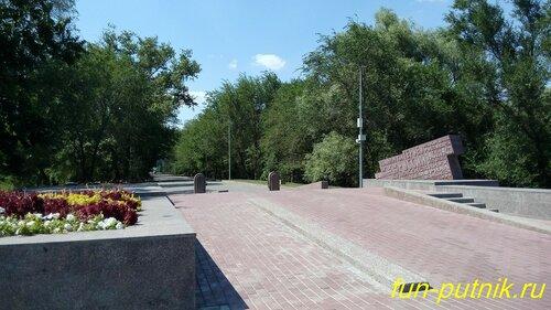 Красивые места Ростова-на-Дону, Кумженка, мемориал, Кумженская роща