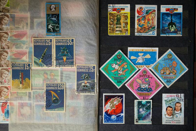 Космические марки