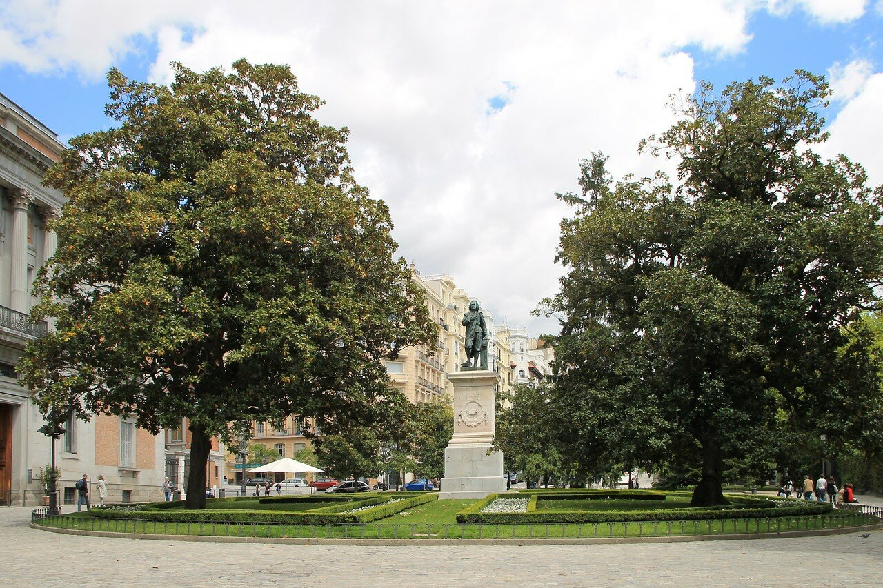 Мадрид. Площадь Мурильо (Plaza Murillo)