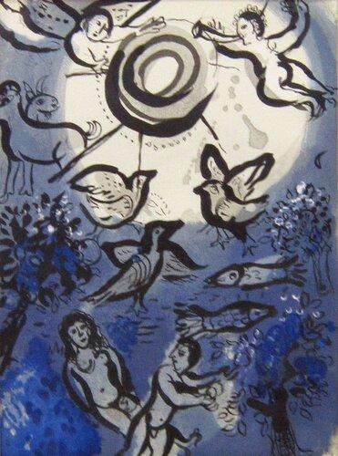 Марк Шагал. Сотворение мира.