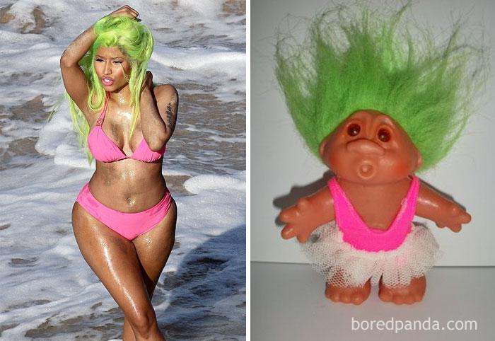 Ники Минаж или кукла-тролль?