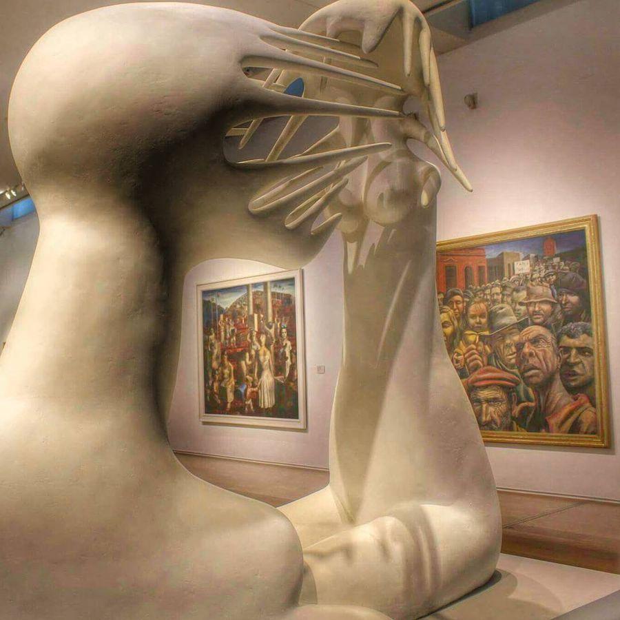 2. Музей латиноамериканского искусства (Буэнос-Айрес, Аргентина) Экспозиция музея посвящена преимуще