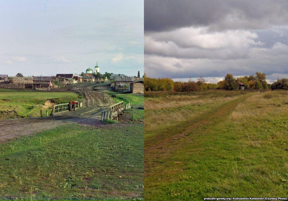 Деревня Дрянново, 1912/2015. Фото: Константин Кудряшов.