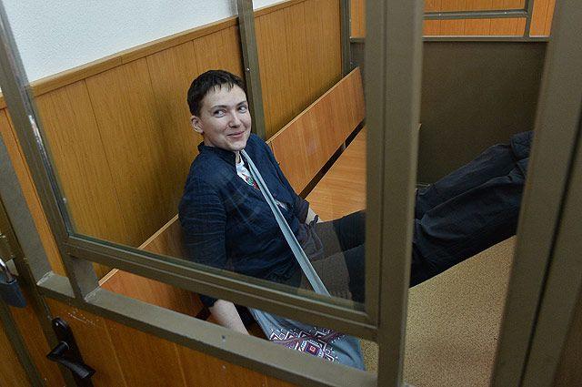Надежда Савченко продолжит сухую голодовку