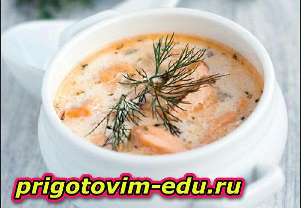 Как готовить Сливочный суп