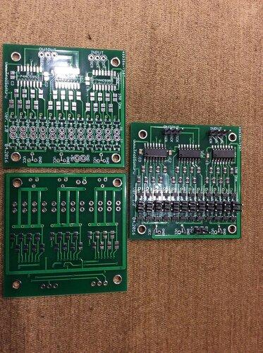Печатные платы модуля ключей