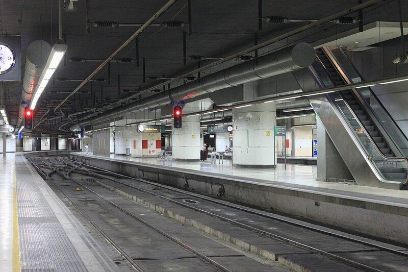 Испания, железная дорога (Spain, the railway)