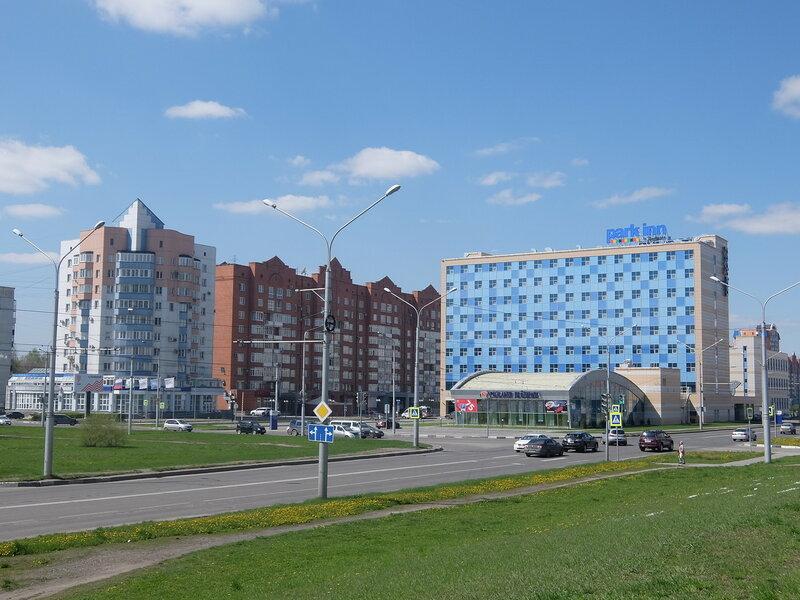 Новокузнецк - Проспект Ермакова - Гостиница