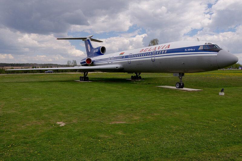Белавиа Ту-154Б-2 EW-85581