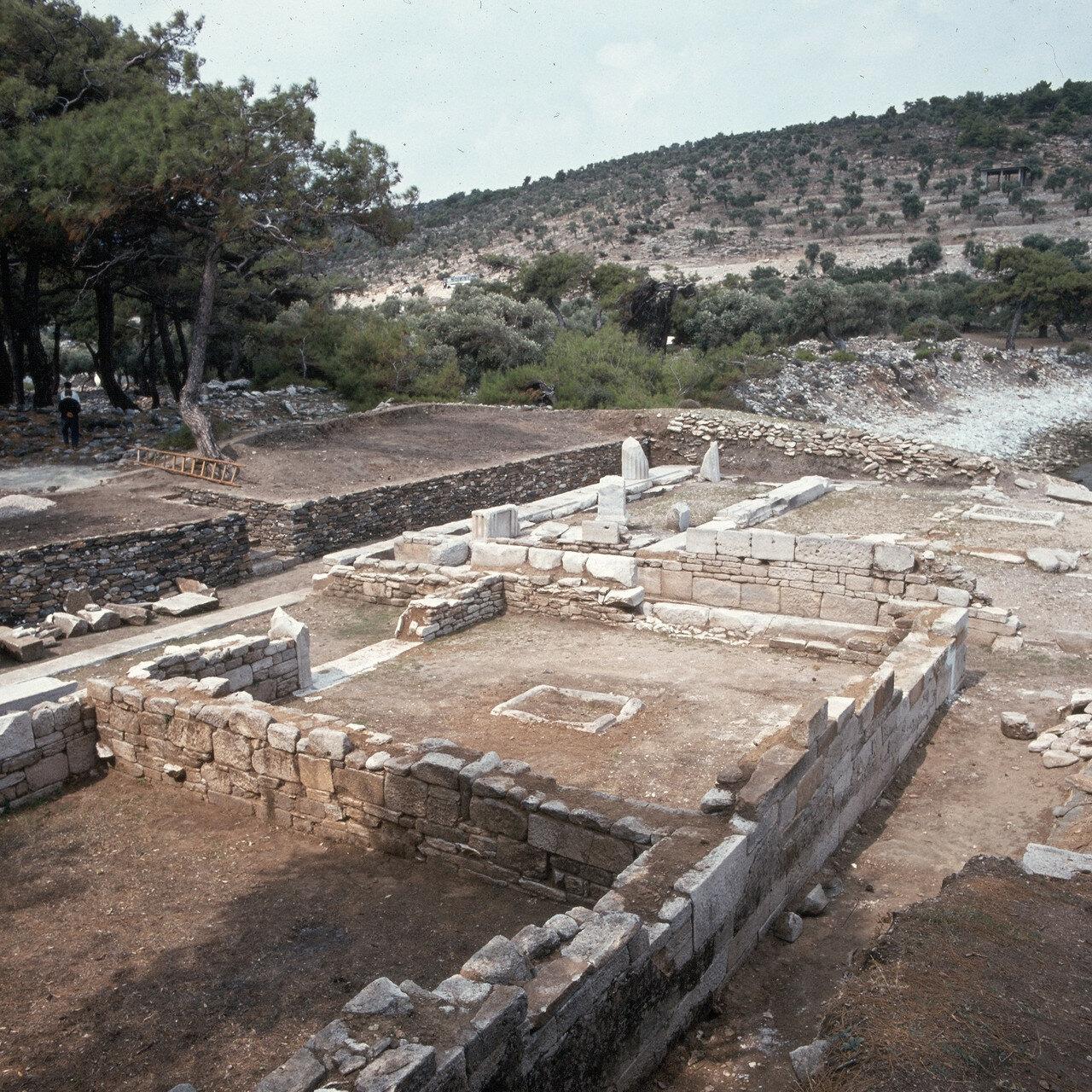 Тасос, Алики. Античное святилище на мраморном карьере