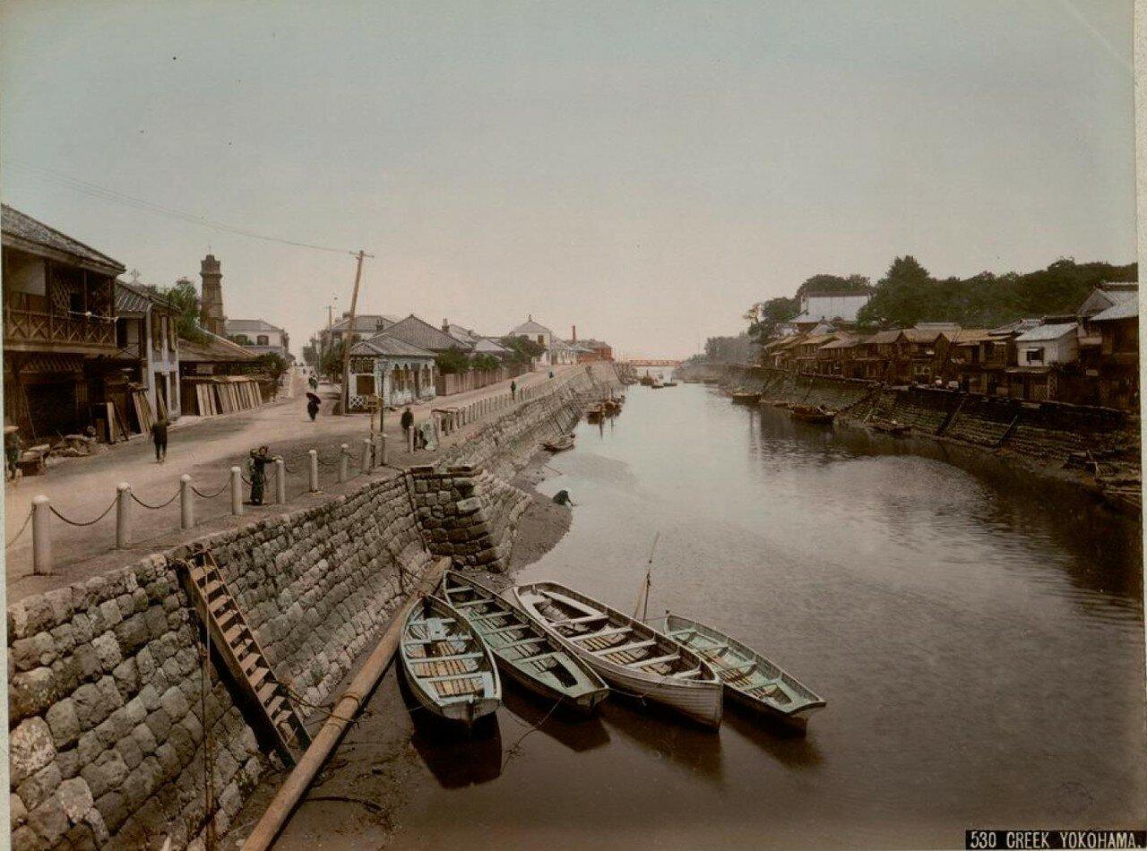 Иокогама. Канал