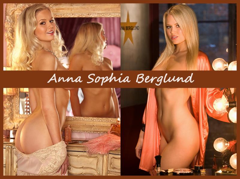 Американская модель Anna Sophia Berglund