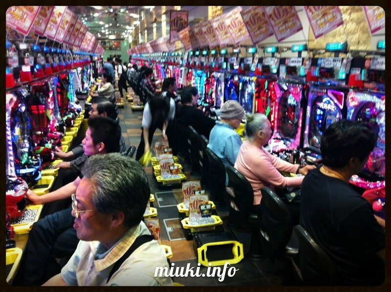 Популярность японских игровых автоматов