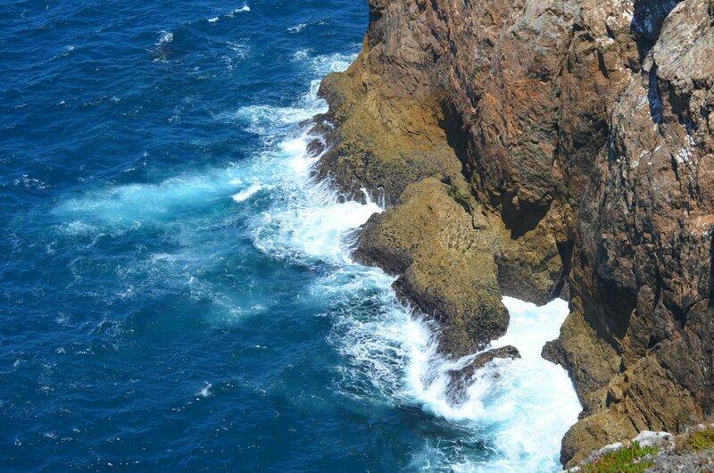 шум морского прибоя