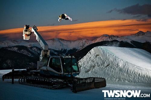 Новые обои про сноуборд