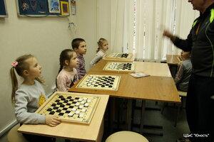 13 апреля 2015 отрытый урок по шашкам