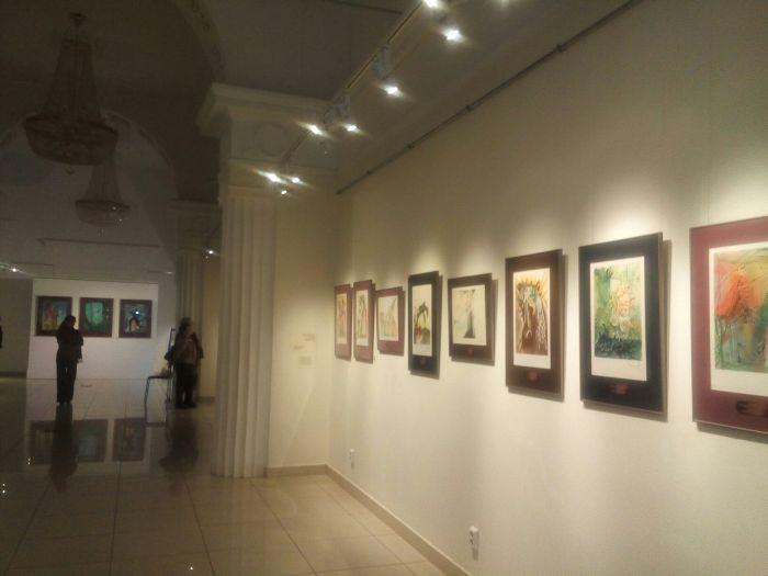Выставка работ Дали