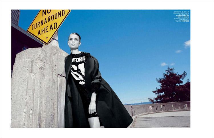 Тейлор Мари Хилл (Taylor Marie Hill) в журнале Marie Claire Italia