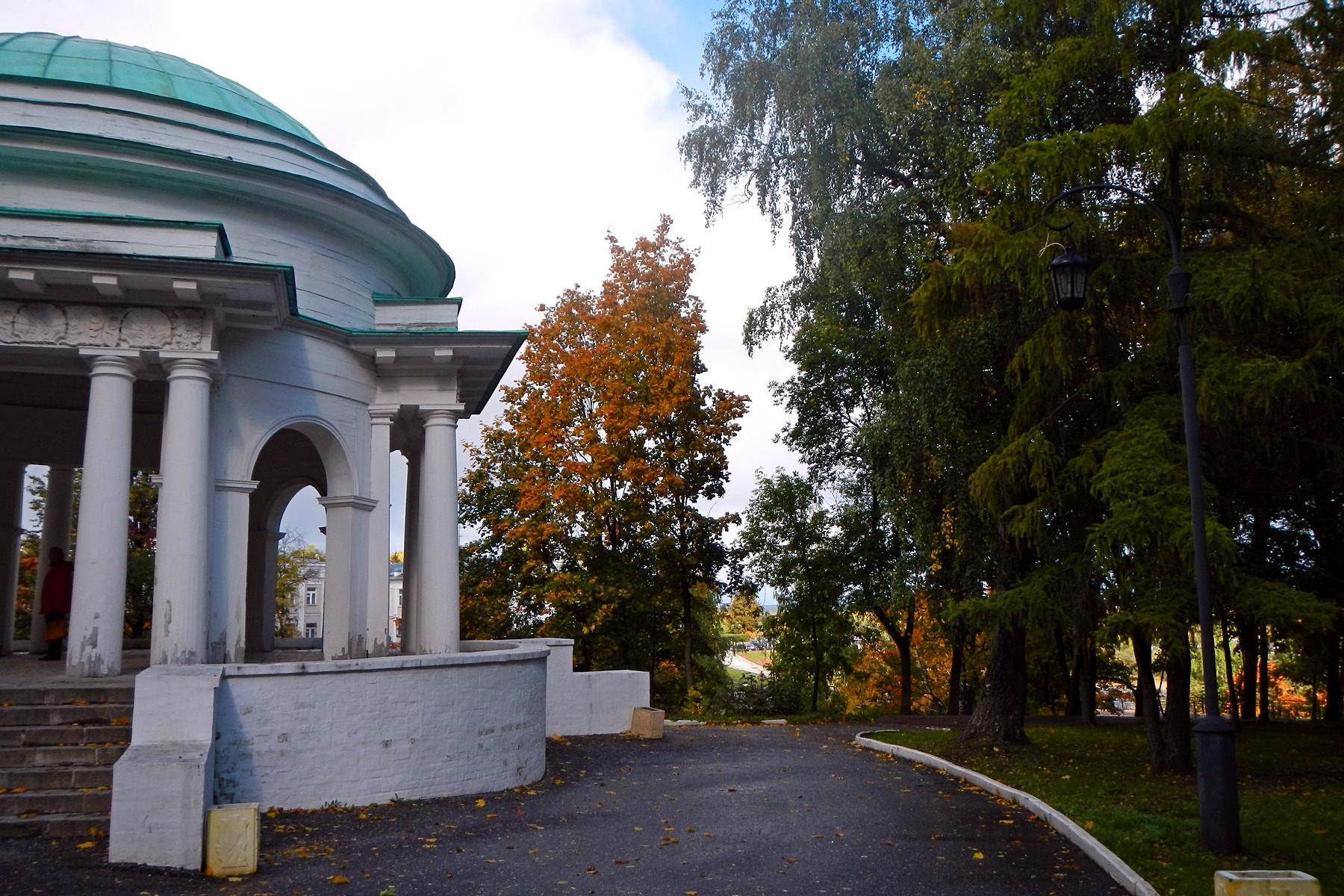 Картинка осеннего парка