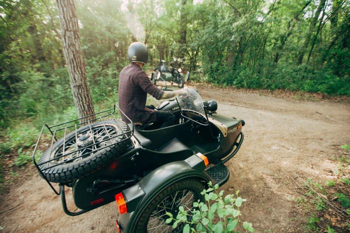 Обновленный мотоцикл Ural для Америки