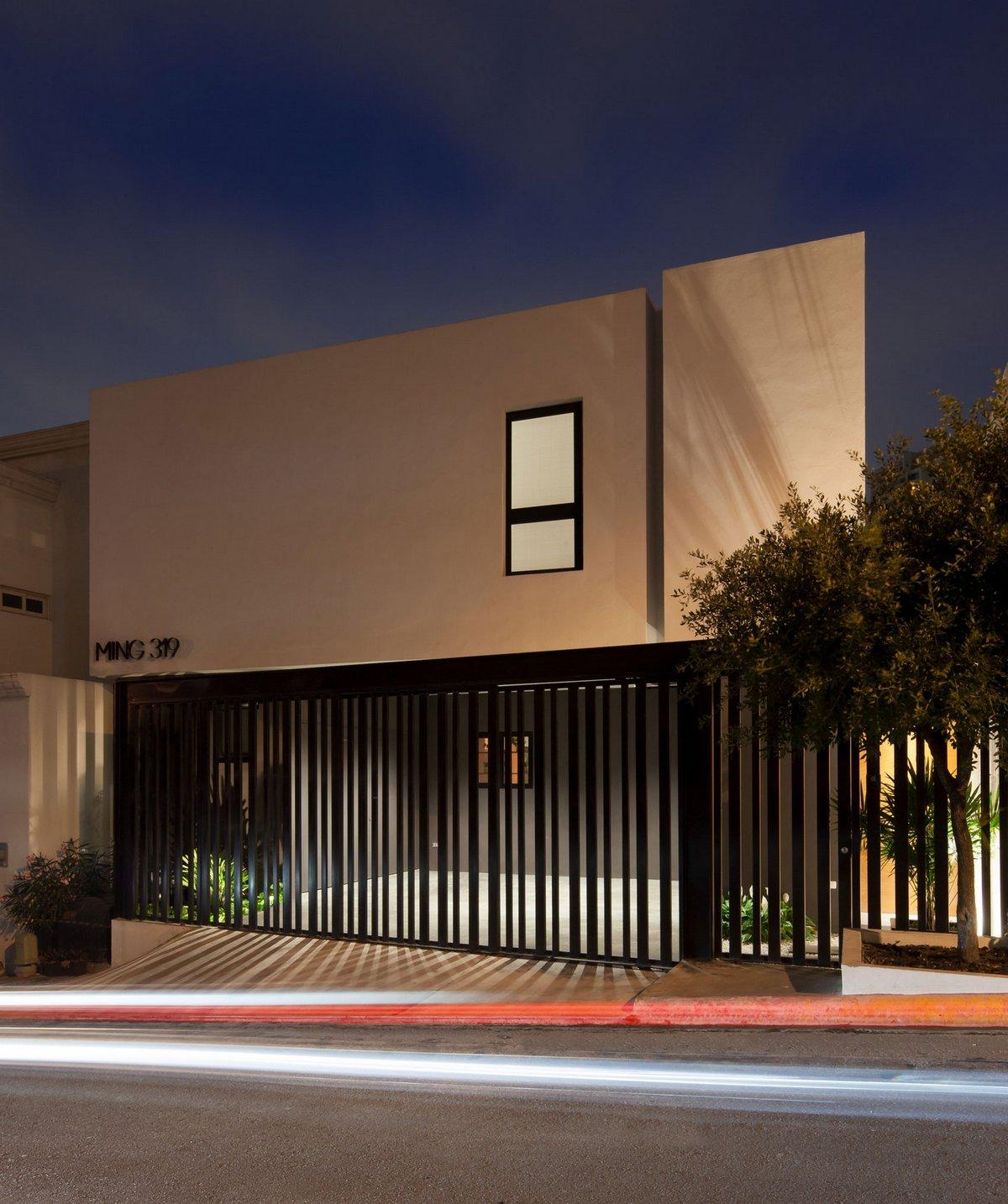 LGZ Taller de Arquitectura, частный дом в Мексике, дома в Монтеррей, частный дом на маленьком участке земли, план дома, фотографии частных домов
