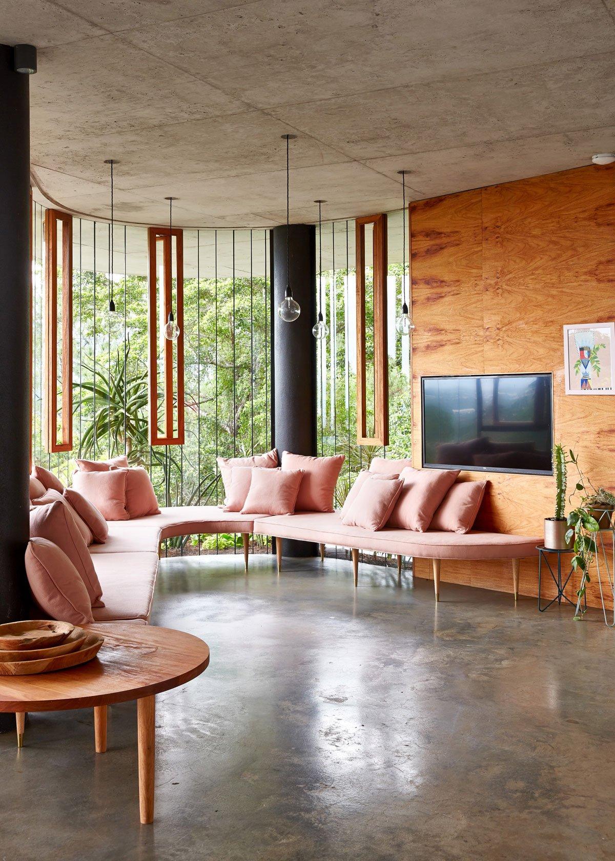 Jesse Bennett Architect, дома в лесу, красивые дома в лесу, самые красивые дома в лесу, Planchonella House, дом с видом на лес, дом с окнами на лес