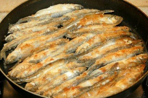 Мелкая рыба в духовке рецепты с фото