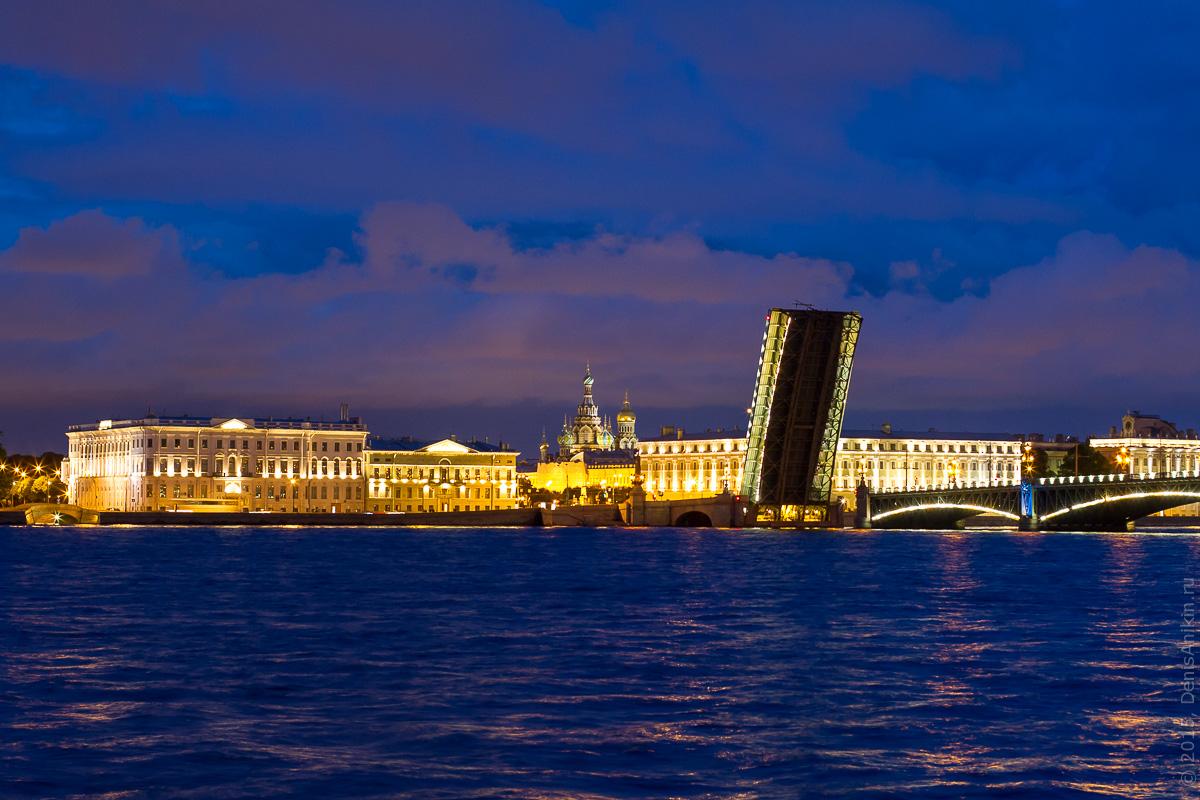 Санкт-Петербург развод мостов 11