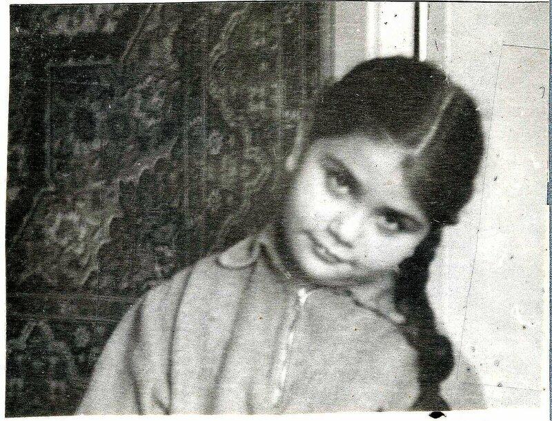 Соседка Ирка. Март 1965 года
