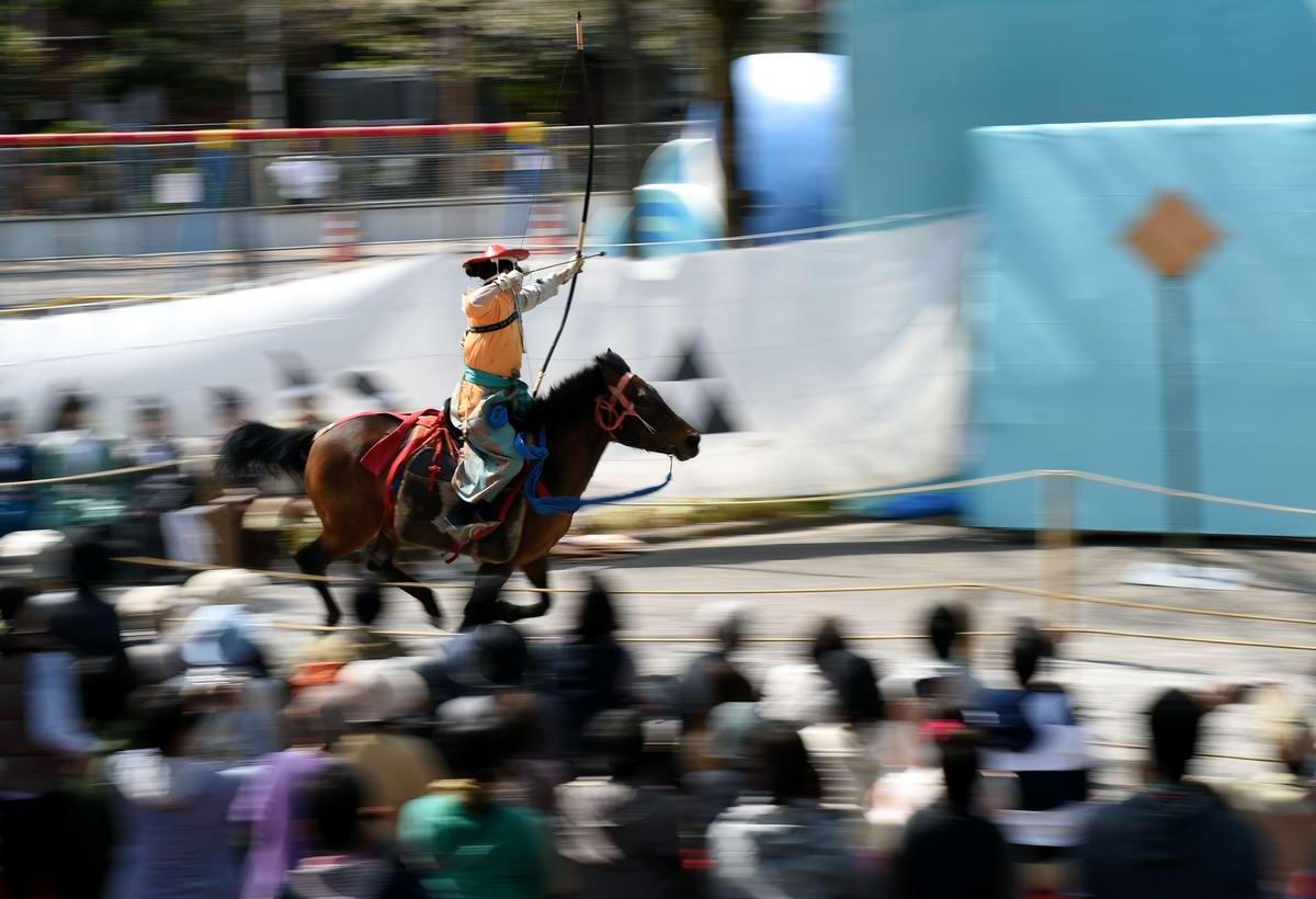 Стреляем из лука на полном скаку: Потомки японских самураев (11)