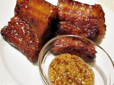 Ребрышки в медово-соевом соусе