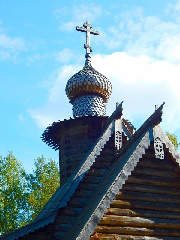 Купол Знаменской церкви.