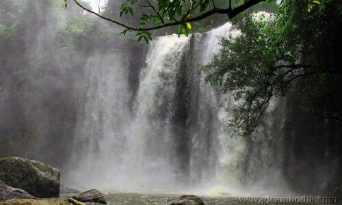 Пном Кулен, водопад кулен