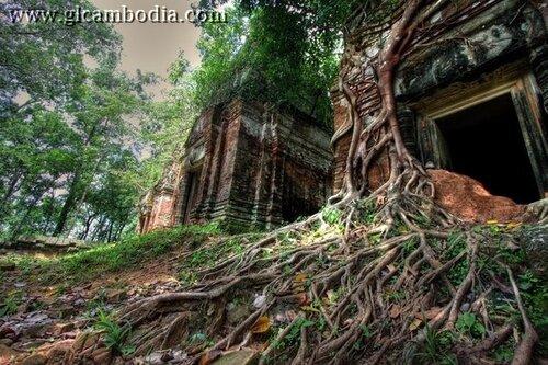 Бенг миле, дальние храмы Ангкора, дальние храмы Камбоджи