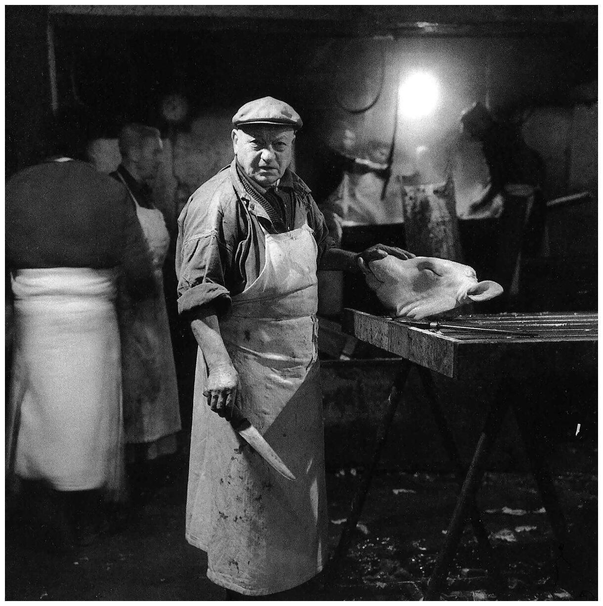 1968. Камера убоя и разделки скота на улице Соваль