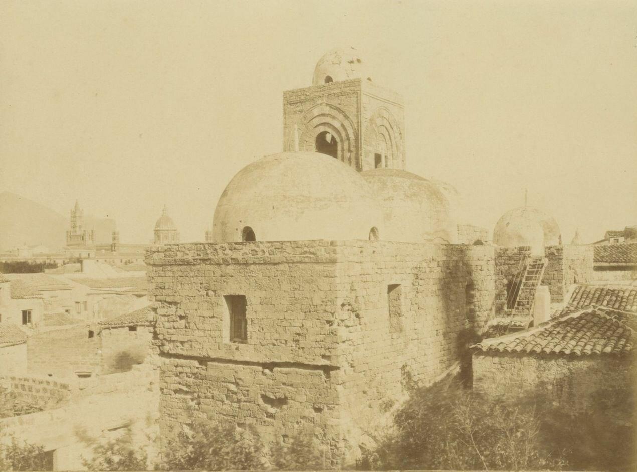 Сан-Джованни-дельи-Эремити. Купол церкви