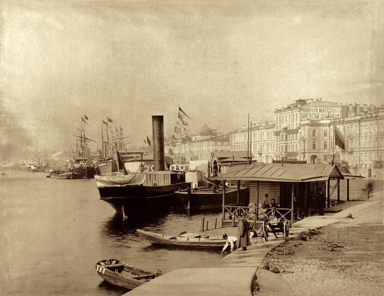 1890-е. Николаевская набережная.