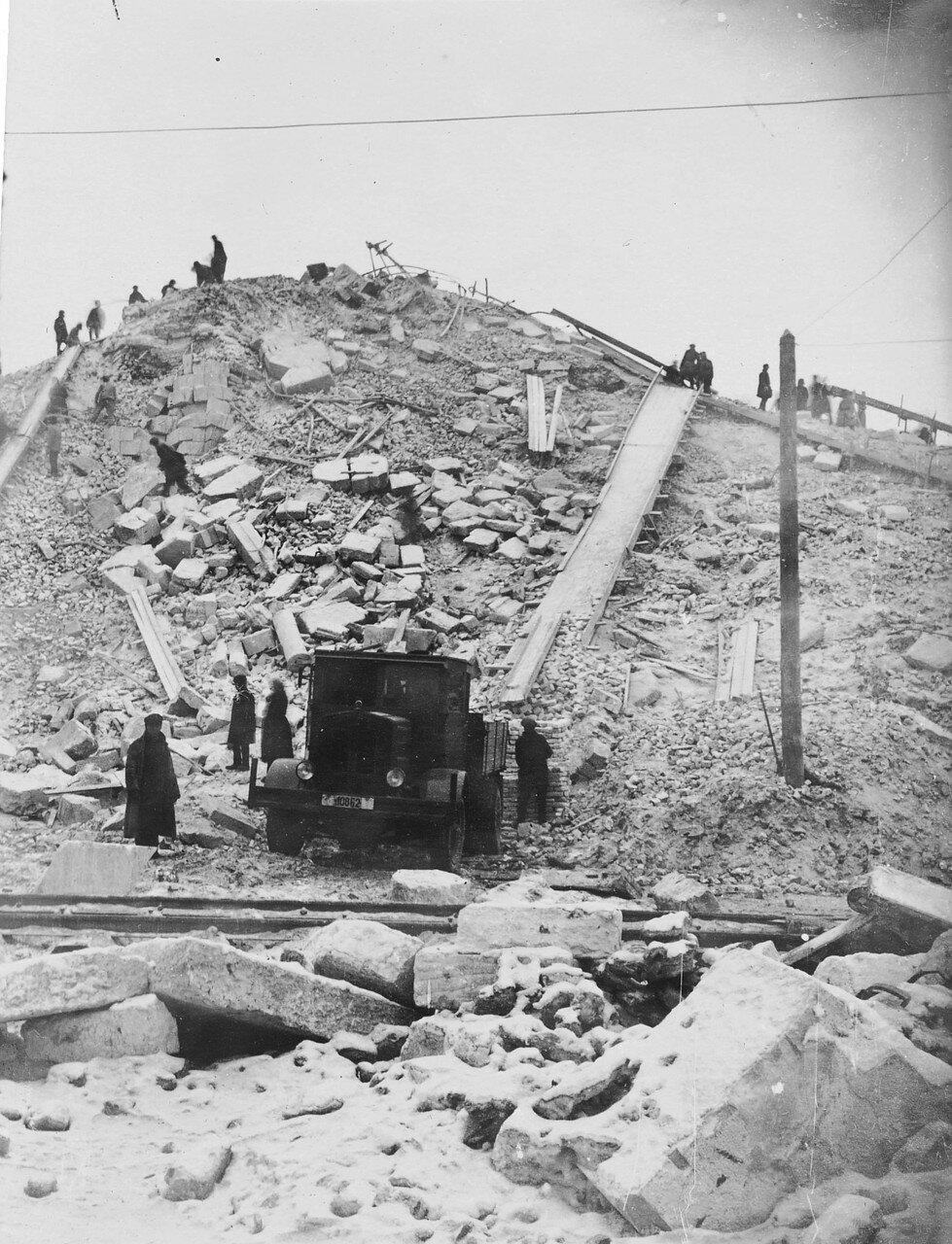 1931. После сноса Храма Христа Спасителя