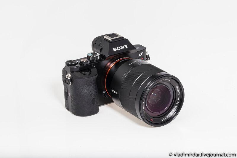 Полнокадровая компактной системная камера Sony Alpha A7R